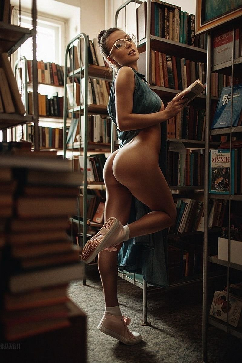 Naked librarian